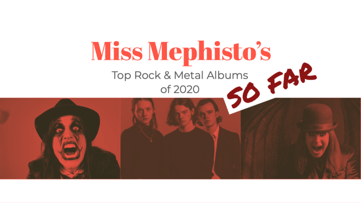 Top Rock and Metal Albums of 2020 (So Far)